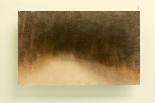 Autius, 2010, värituloste, akryylimedium, pleksi, liima, 53,5 x 32,7 cm