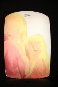 Pigmentinsiirto kirkasvalolampun pinnalle, 2016