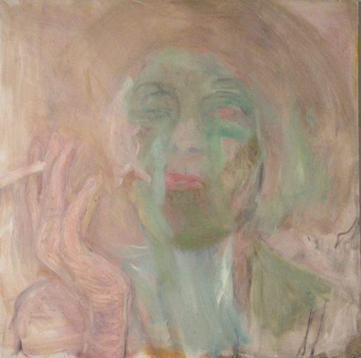 Ikävystynyt, 2013, luku, 100 x 100 cm